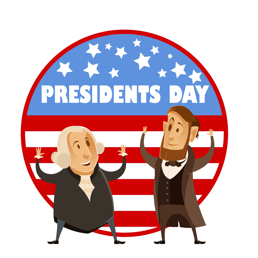Vector+image+of+the+Presidents+day+banner