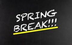 The week following spring break