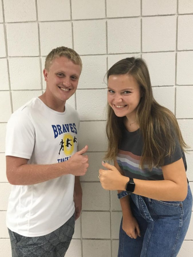 Lily B.'21 and Max W.'20