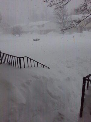 Buffalo sets snowfall record