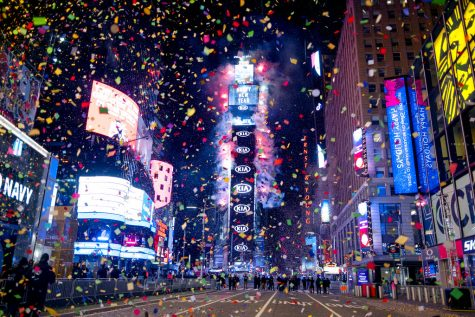 The Times Square New Year